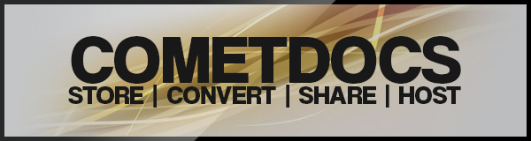 Convert files and share them using Cometdocs